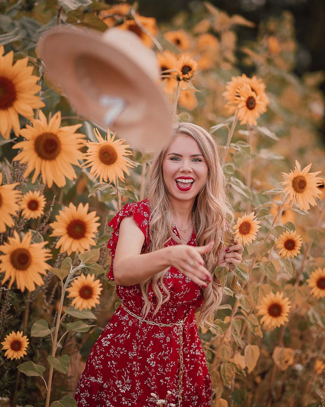 Sonnenblumen Fotoidee