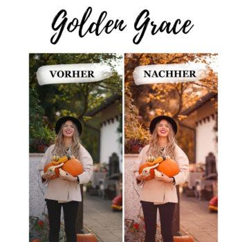 Lightroom-Preset-Golden-Grace Vorher-Nachher Vergleich