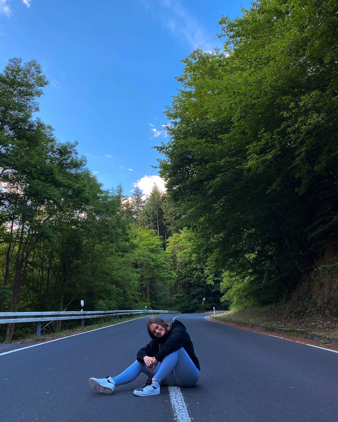 Instagram Fotoidee Straße