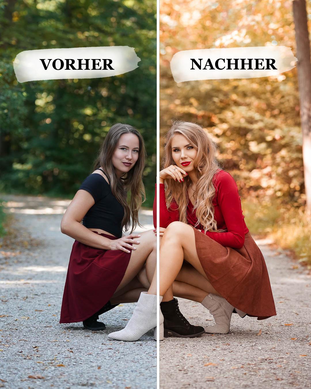 Vorher-Nachher-Vergleich Lightroom-Presets-Herbst-Golden-Grace