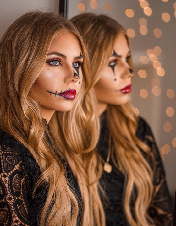 Halloween Makeup Clown – 3 einfache Ideen
