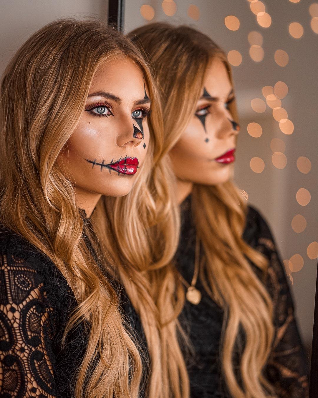 Halloween Makeup Clown – 3 einfache Ideen