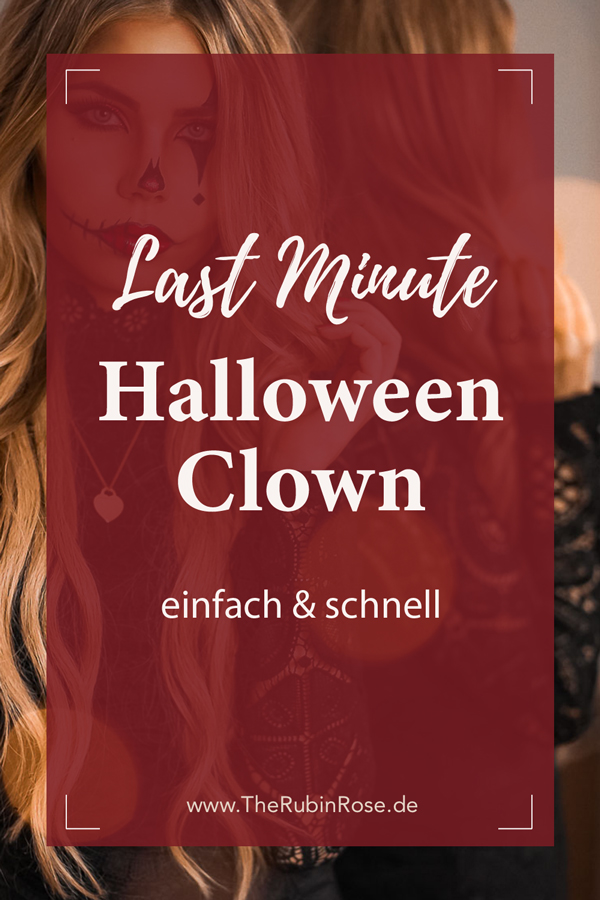 Pinterest-schneller-Halloween-Look-Clown