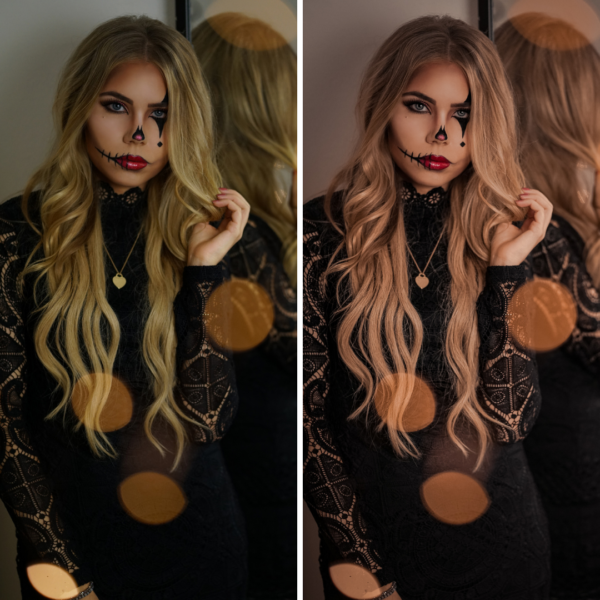 Halloween Fotofilter - Preset Moody Mind